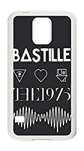 The 1975 Case for Samsung Galaxy S5 I9600,black and white phone Case for Samsung Galaxy S5 I9600.