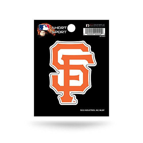 MLB San Francisco Giants Short Sport Decal (Francisco Decal San Giants)