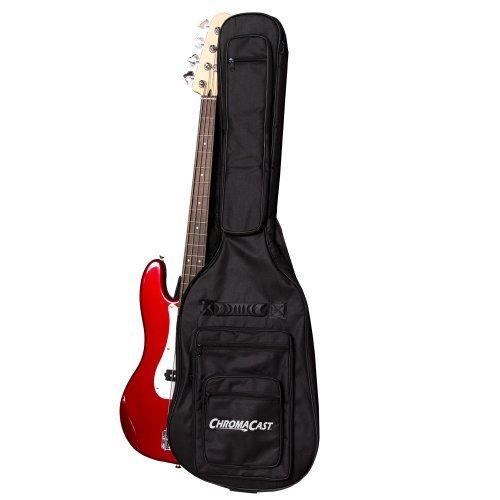 ChromaCast CC-BPB-BAG-2PK Bass Guitar Padded Gig Bag, 2 Pack