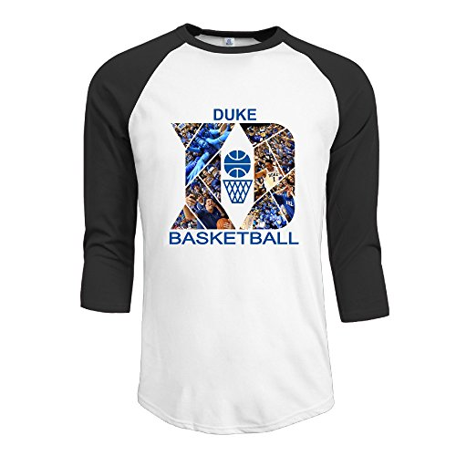 ninjoe-mens-cool-3-4-raglan-duke-blue-national-basketball-tshirts-black