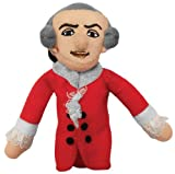 Wolfgang Amadeus Mozart Finger Puppet and Refrigerator Magnet - By The Unemployed Philosophers Guild