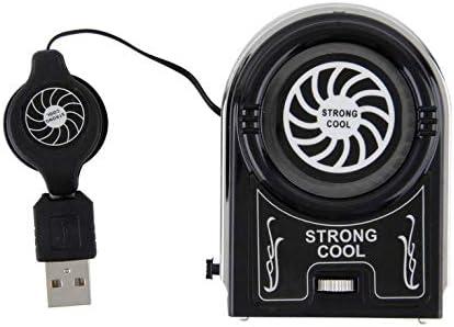 Goldyqin Mini aspiradora USB Refrigerador Extracción de Aire Ventilador Enfriador Enfriador Pad Soporte para portátiles Accesorios para computadoras portátiles Periféricos informáticos: Amazon.es: Electrónica