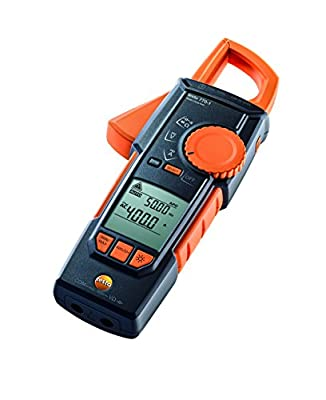 Testo 770-1 (0590 7701) TRMS Hook-Clamp Digital Multimeter with Inrush, 400A