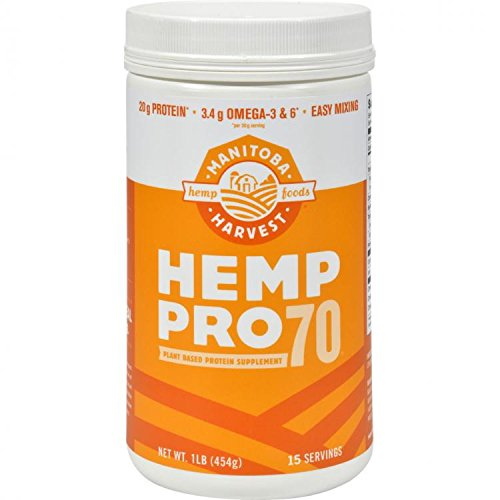 Manitoba Harvest Hemp Pro 70 Water Soluble 70% Protein Concentrate 473 ml by Manitoba