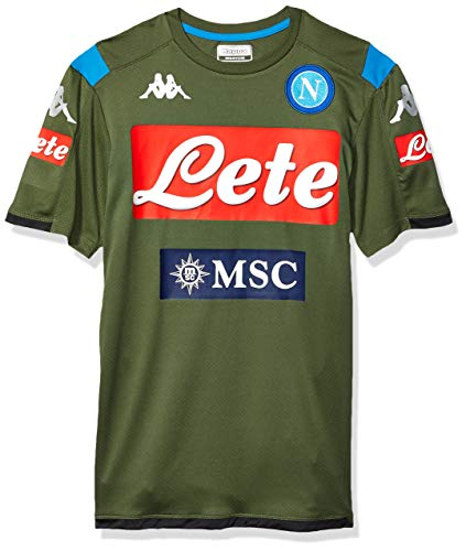Ssc Napoli Italian Serie A Men's Sleeveless Training Top, Green, S