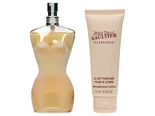 Coffret Jean Paul Gaultier (Jean Paul Gaultier Le Classique Coffret: Eau De Toilette Spray 100ml/3.3oz + Body Lotion 75ml/2.5oz 2pcs)