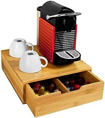 SoBuy FRG70-N,ES Estante cafetera, Soporte para Cápsulas de Café ...