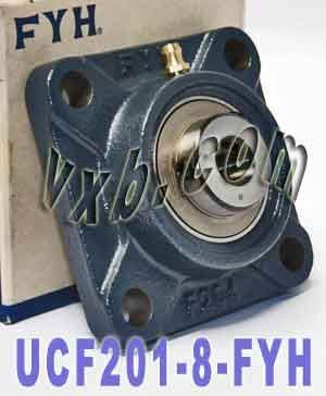 UCF-201-8 FYH Bearing Square Flanged 1/2