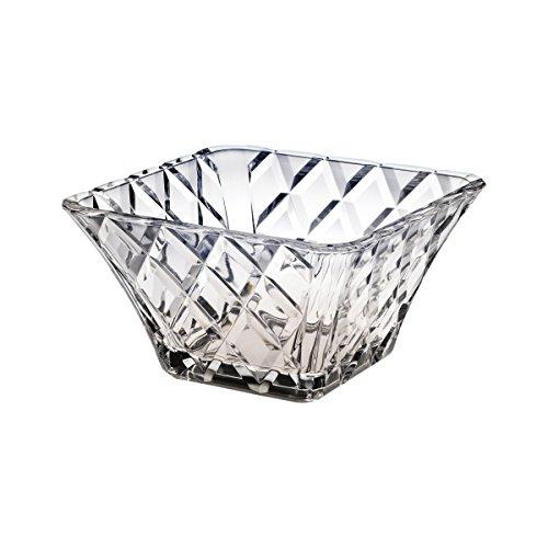 Crystal Square Bowls (Mikasa Crystal 10 Inch Diamond Sparkle Square Bowl)