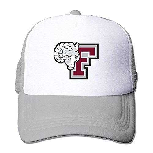 (Unisex mesh baseball cap Fordham University Rams Trucker Hat (5 colours))