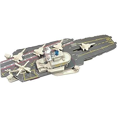 """Fun Stuff Inc 8.5"""" Aircraft Carrier w/Light & Sound"""