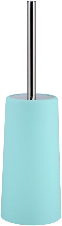Portasapone E Scopino per WC Con Dispenser Per Sapone Porta spazzolino Set Di 6 Accessori Da Bagno Bicchiere per Acqua da risciacquo Verde Set Professionale Di Accessori Per Il Bagno