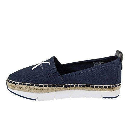 Blu Navy Mocassini I Donna Klein Jeans Calvin 4cBxWZFqU