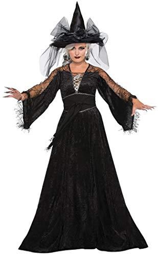 Spider Monkey Front - Forum Women's Spellcaster Wizard Costume, Multi, One Size