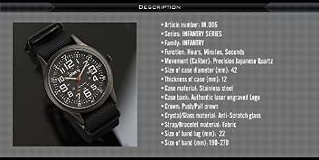 Amazon.com: Military watches for men us army tactical wrist watch: Watches