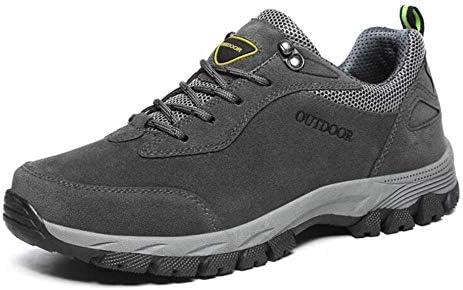 GZ Zapatos para Hombres, Otoño Invierno, Zapatos para Caminatas Al Aire Libre Zapatos de Trekking de Gran Tamaño Zapatillas de Deporte Cómodas Zapatillas de Ciclismo,Gris,40: Amazon.es: Deportes y aire libre