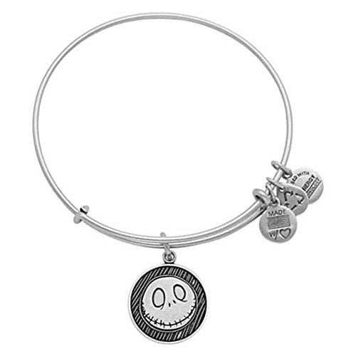 Disney Jack Skellington Bangle by Alex and Ani Silver by Alex and Ani