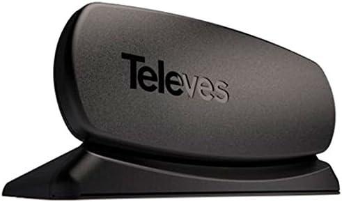 Televes Innova Boss - Antena terrestre Interior, Color Negro