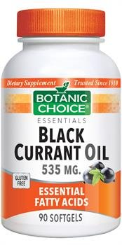 Botanic Choice Black Currant Oil 535mg (GLA 80mg) 90 Capsules by Unknown