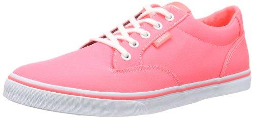 Sneaker Damen Whit Orange WINSTON Vans W Neon Coral LOW VVO2A49 ZUwayOxyAq