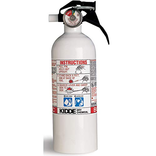 (Kidde 466635MTLK Fire Extinguisher 5-B:C Gauge)