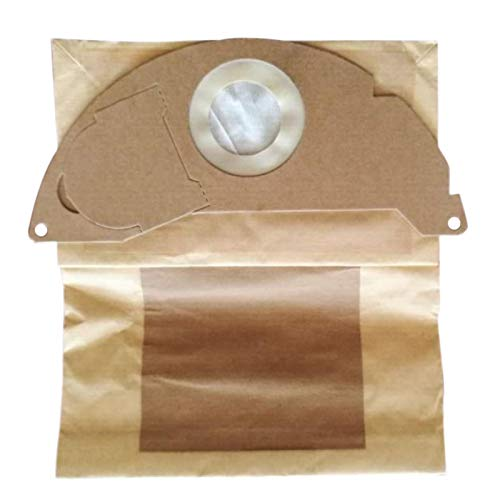 Nrpfell 10 Vacuum Cleaner Bags for Replacement Karcher A2000 2003 2004 2014 2024 2054 2064 2074 S2500 WD2200 2210 2240 2250