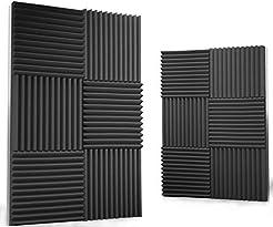 12 pack Acoustic Panels - Acoustic Foam ...