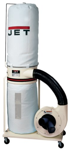Jet DC-1100VX-BK Dust Collector 1.5HP 1PH 115 230-Volt 30-Micron Bag Filter Kit