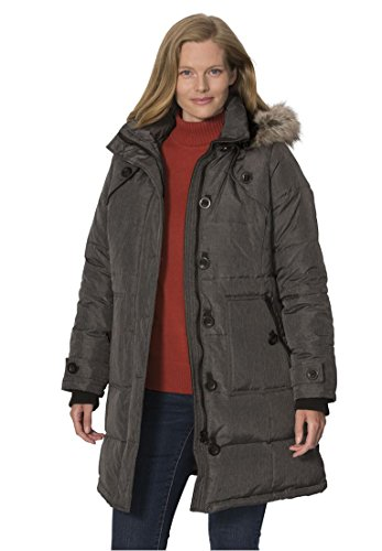 Woman-Within-Plus-Size-Hooded-Down-Heathered-Puffer-Coat