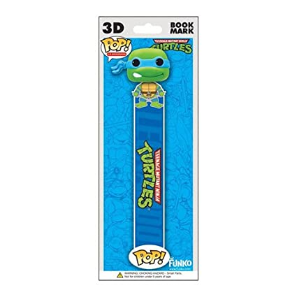 Funko POP! 3D Bookmark - TMNT - LEONARDO (Blue)