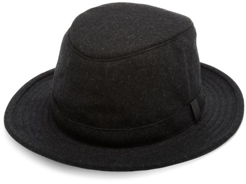 Tilley Endurables Tec-Wool Hat,Black Mix,7 1/8