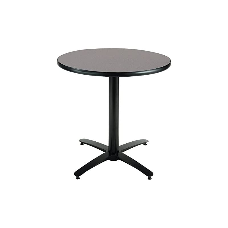 KFI Seating Round Pedestal Table with Ar