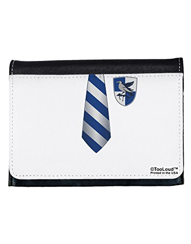 TooLoud Wizard Uniform Blue and Silver AOP Ladies Wallet All Over Print (Hogwarts School Uniform)