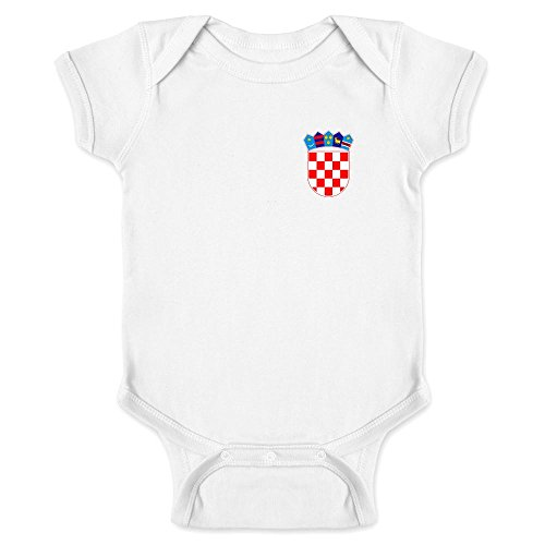 Croatia Soccer Retro National Team White 6M Infant ()