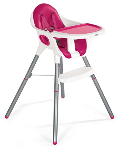 Mamas & Papas Juice High Chair, Pink 2in 1 Convertible High Chair