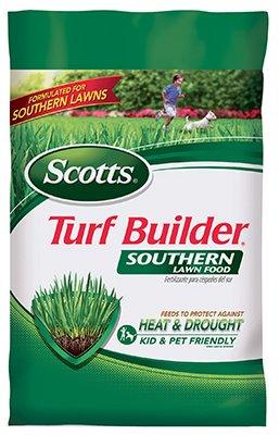 Scotts Southern Turf Builder Lawn Food Fertilizer, 2,500 sq. ft.