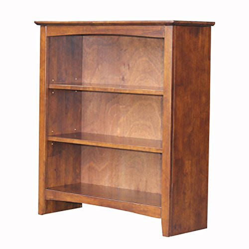 International Concepts Shaker Bookcase, - Inch 36 Wide Bookcase