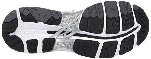 Asics Gel-Kayano 23, Zapatillas de Running para Hombre Negro (Black/Silver/Green Gecko)