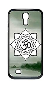Cool Painting OM Lotus Flower Snap-on Hard Back Case Cover Shell for Samsung GALAXY S4 I9500 I9502 I9508 I959 -1202