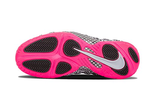 the latest d7996 d8950 spain nike air foamposite pro prm elefant print 616750 002 grå rosa sko  størrelse 10 2ff01