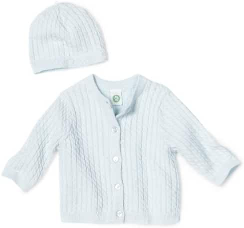 Little Me Baby-Boys Newborn Adorable Cable Sweater