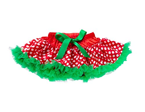 Tutu Skirt Baby Girl Cake Dress Children's Day Gifts Festival Carnival Party Halloween Cosplay Christmas Dress up and Dance Twirling (Christmas 3)]()