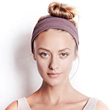 BLOM Original. Women's Headband for Yoga or Fashion, Workout or Travel. Happy Head Guarantee. Super Comfortable. Designer Style & Quality.