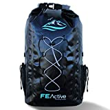 FE Active - 30L Eco Friendly Waterproof Dry Bag Backpack Great for All Outdoor and...