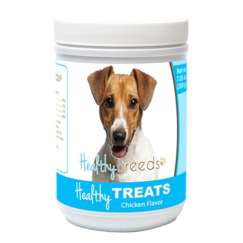 Healthy Soft Chewy Dog Treats for Jack Russell Terrier - Over 80 Breeds - Tasty Flavored Snack - Small Medium or Large Pets - Training Reward - 7oz