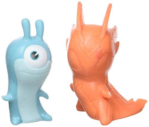 SLUGTERRA Slugs Character 8028-Pack of 2-Assorted Design-Multi-Coloured-One Size