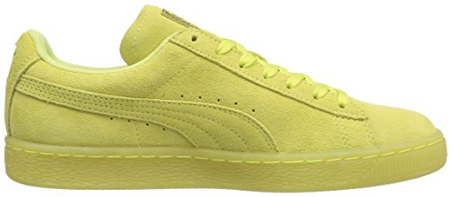 Puma Fashion WN's Fluo Gold Soft Sneaker Yellow Fluo Soft Women's Iced Classic Suede Yellow gold wXwgqS