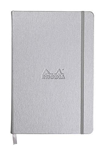 Rhodia Webnotebook, A5, Dot - Silver