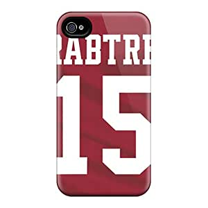 Quality Carolcase168 Cases Covers With San Francisco 49ers Nice Appearance Compatible With Iphone 4/4s