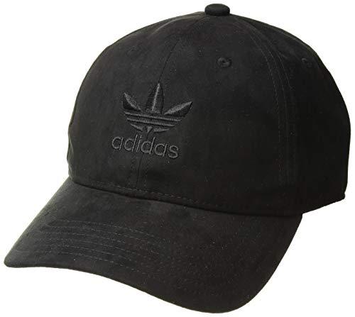 adidas Men's Originals Relaxed Plus Strapback Cap, black, One Size ()